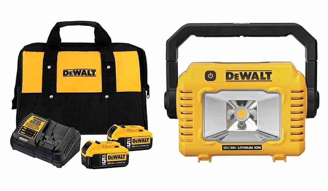 Amazon | BEST PRICE: DEWALT 20V MAX Battery Starter Kit with 2 Batteries