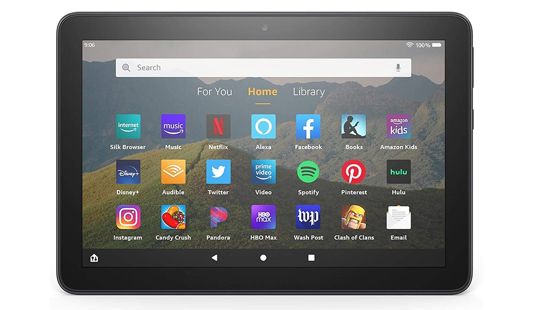 Amazon | PRICE DROP: Fire HD 8 tablet, 8″ HD display, 32 GB, latest model (2020 release), designed for portable entertainment, Black