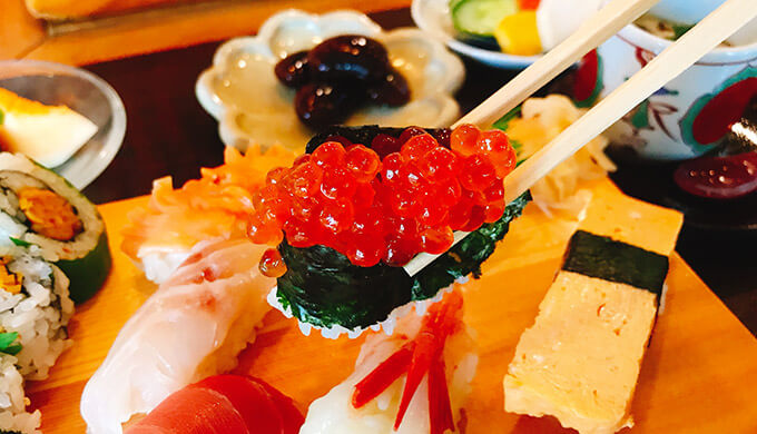 浜丁寿司(いくら寿司)