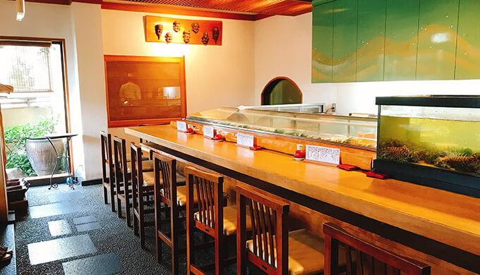 浜丁寿司(カウンター)