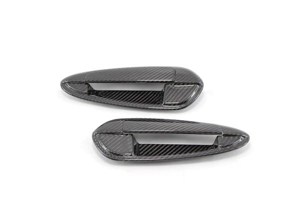 Carbon fiber fiat grande punto door handles