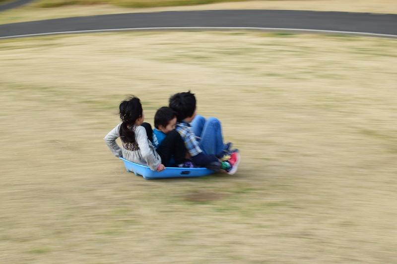 吉川市 永田公園 そり