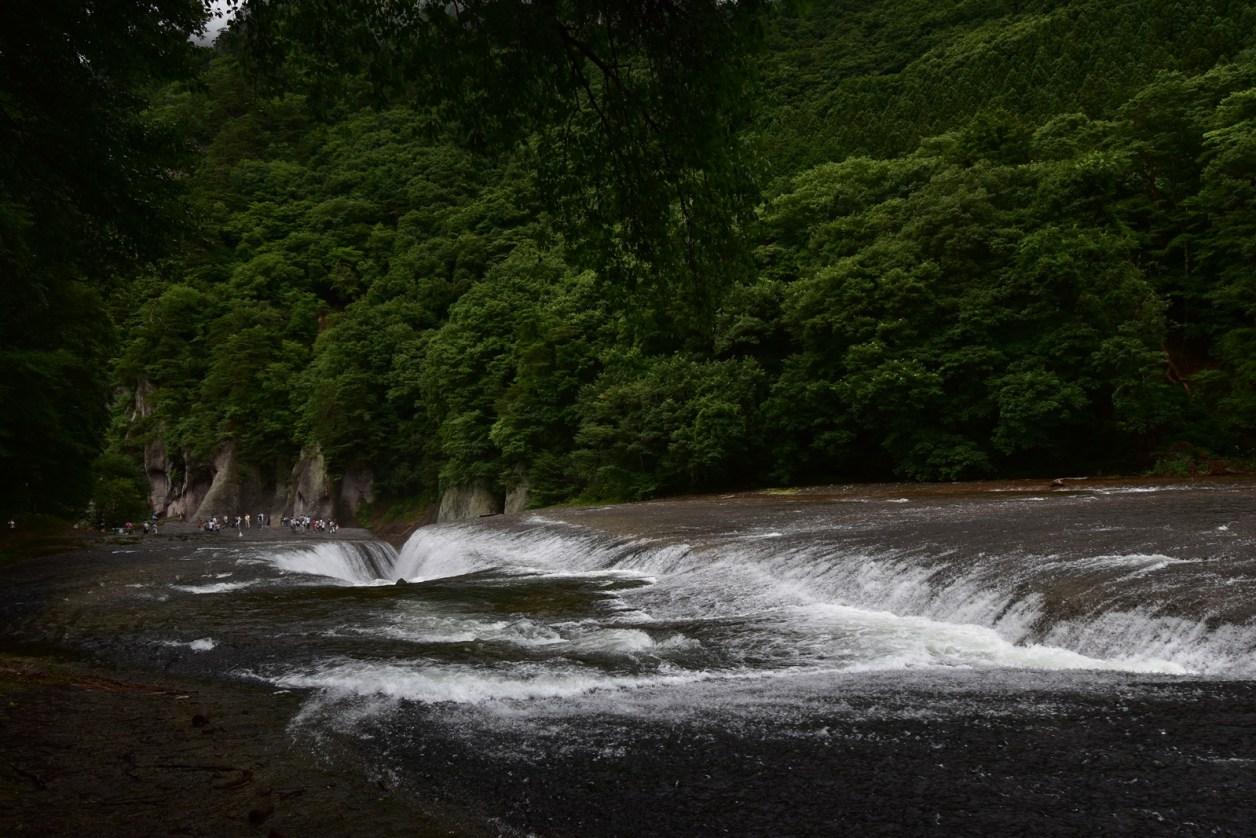 吹割れの滝 撮影