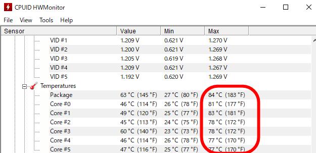 白虎 空冷 CPU温度
