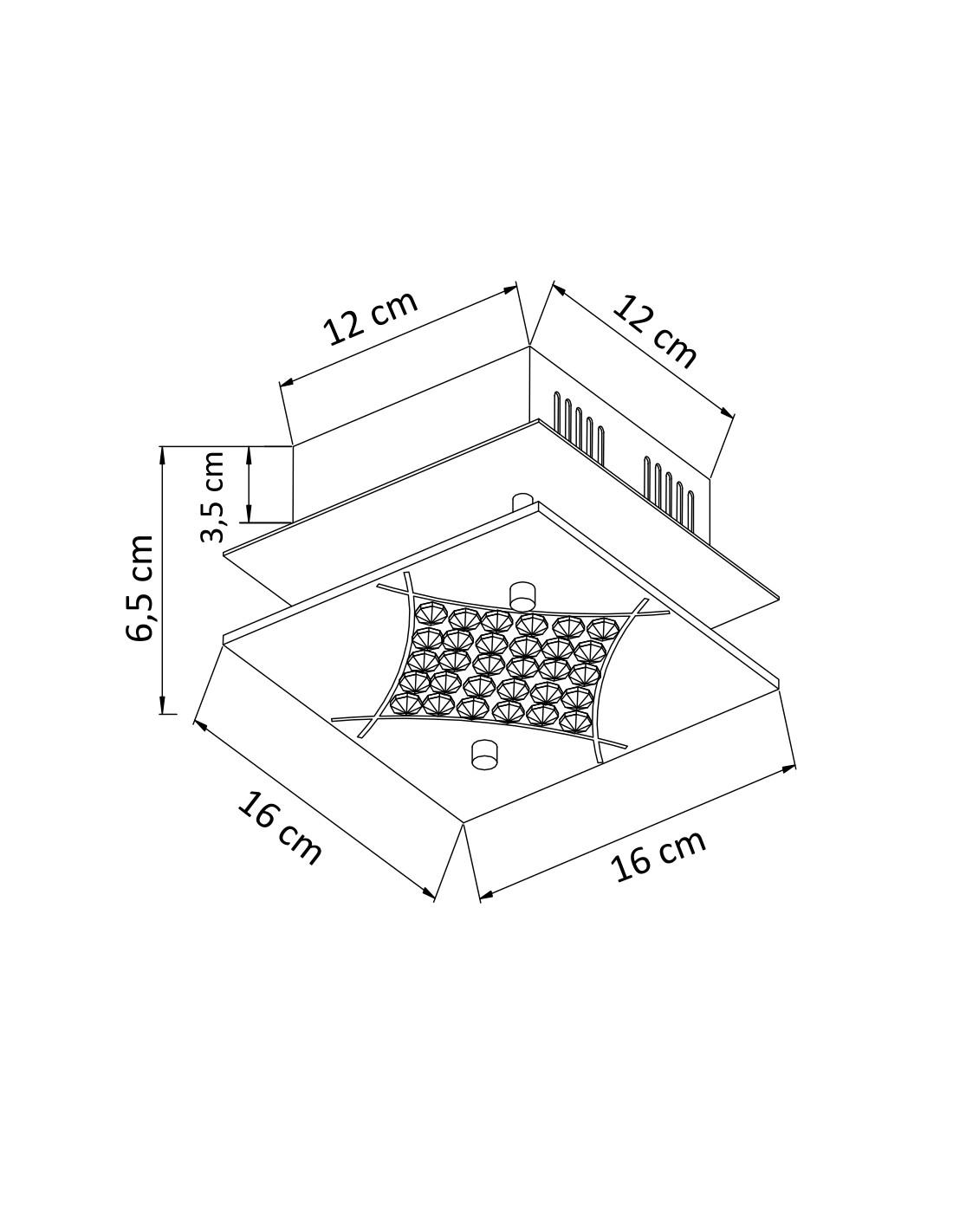 Led Semi Flushmount Ceiling Light