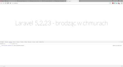 """CSP style-src - efekt z włączoną dyrektywą (źródło 'self' https://fonts.googleapis.com/css?family=Lato:100"""")"""