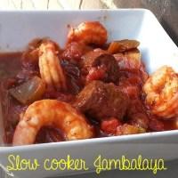 A Recipe Remake - Crock Pot (Slow Cooker) Jambalaya!