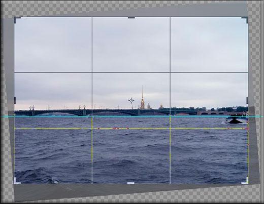 Menggunakan bingkai di Photoshop