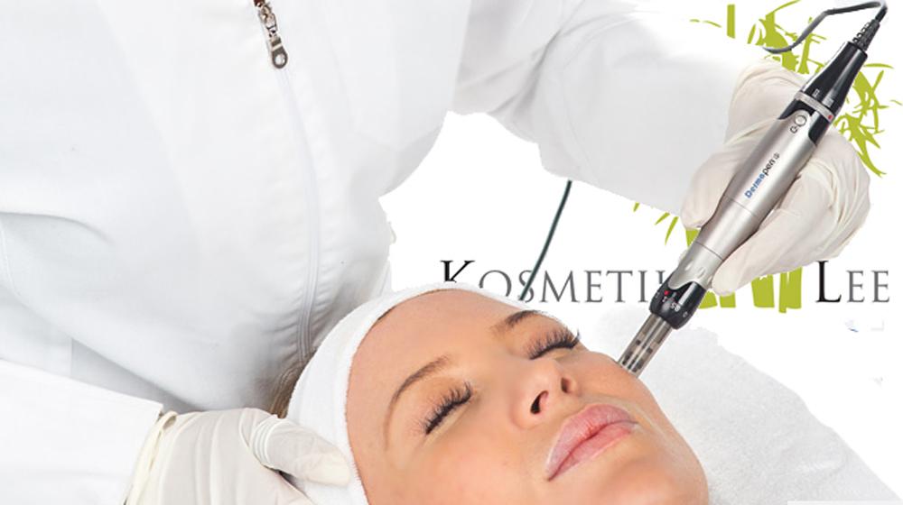 unreine Haut Microneedling, dermatologische Kosmetik