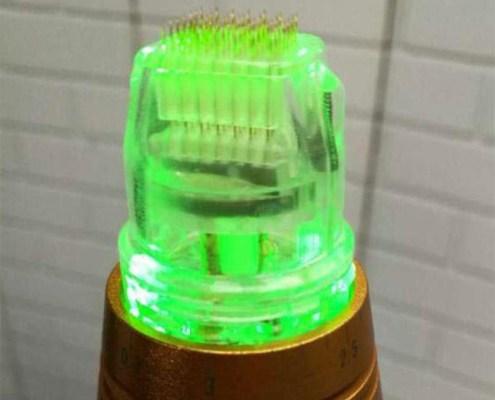 RF Micro Needling mit Goldnadeln