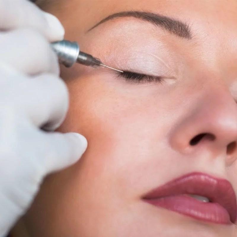 Behandlungsbereich Permanent Make up mit vorher nachher Bilder