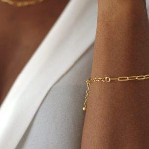 paperclip bracelet chains
