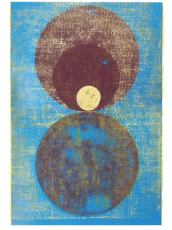 Atropos, 2019, Linoldruck, 46 x 32 cm