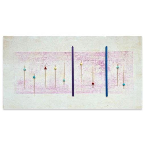 Fuga, 2021, Assemblage, 38 x 71 cm