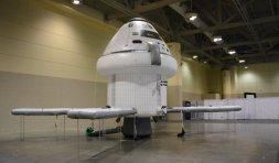 Pompowany pojazd MPCV Orion w skali 1:1 / Credits - K. Kanawka, Kosmonauta.net