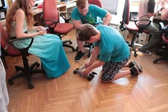 Falenica 2015 - Roboty na parkiecie / Credit: R. Gabryszewski, Fundacja Edukacji Astronomicznej