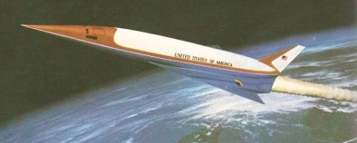 Jeden z prvých návrhov na americký raketoplán tretej generácie.