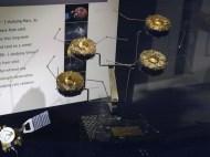 Model družic Cluster pro měření zemské magnetosféry