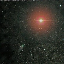 Snímek Rolanda Ligustriho – AU SSO itelescope.net.