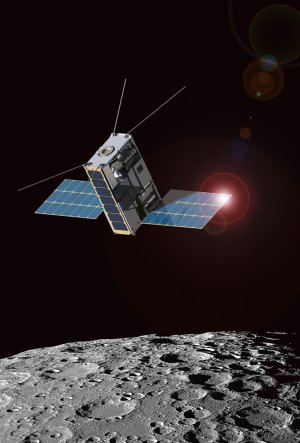 Lunar IceCube poletí na misi Artemis-1