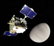 Akatsuki u Venuše. Zdroj: JAXA
