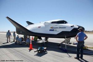 Testovací exemplář Dream Chaseru v na kalifornské ranveji.