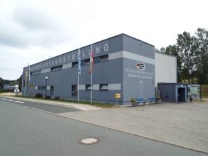 Budova muzea v Morgenröthe-Rautenkranz