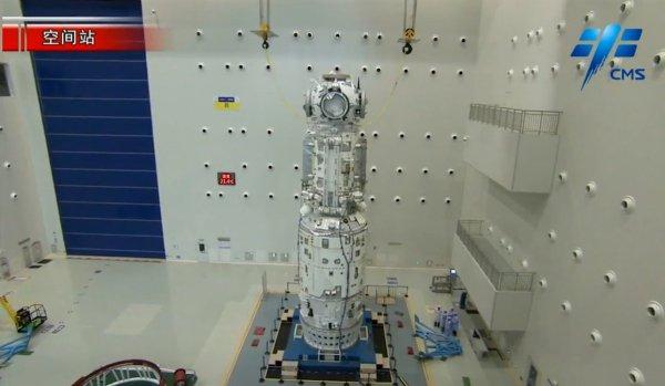 Základný modul (Tianhe) čínskej vesmírnej stanice
