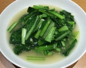 味仙の青菜炒め