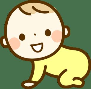 赤ちゃん(生後2ヶ月)