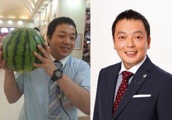 タムタムさん(左)、中川礼二さん(右)