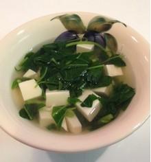 Mulukhiya-soupe