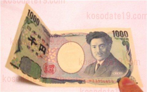 お年玉新札の折り方や入れ方(二つ折り三つ折り)画像付き!1000円2