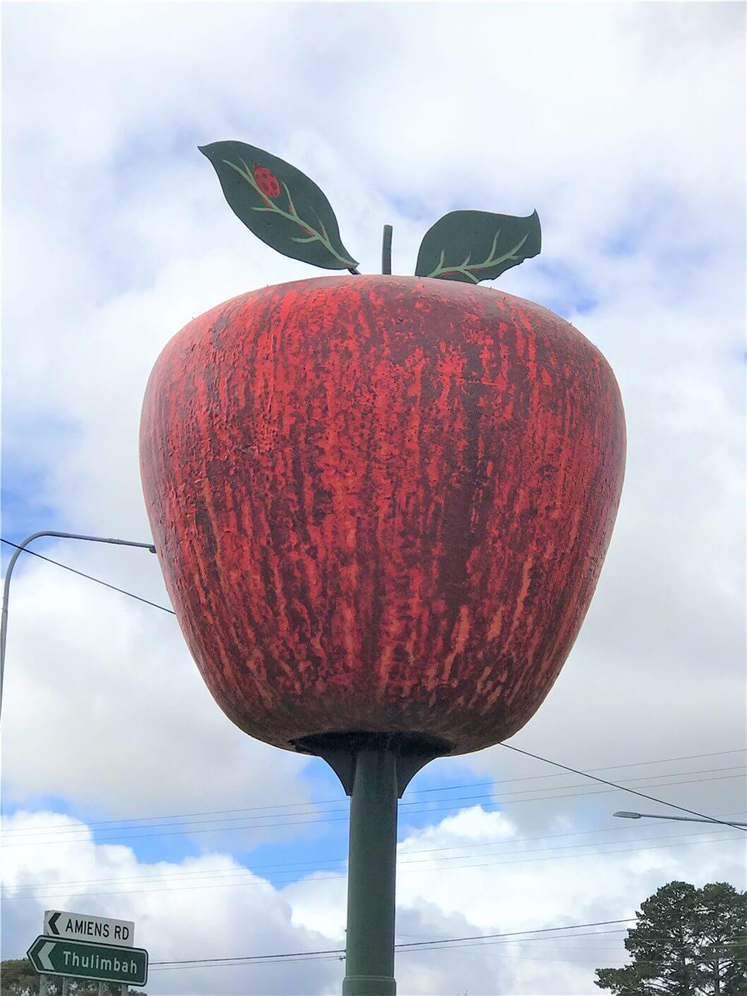 Stanthorpeのランドマーク『Big Apple(ビッグアップル)』の画像