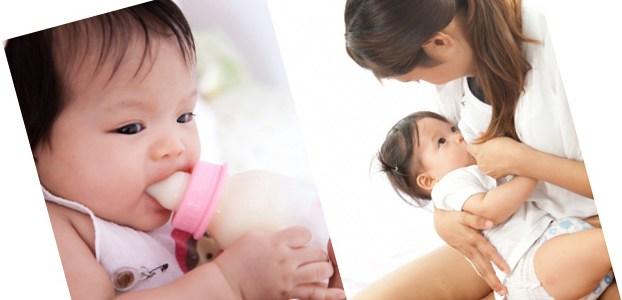 母乳×粉ミルク