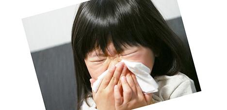 花粉症-子供