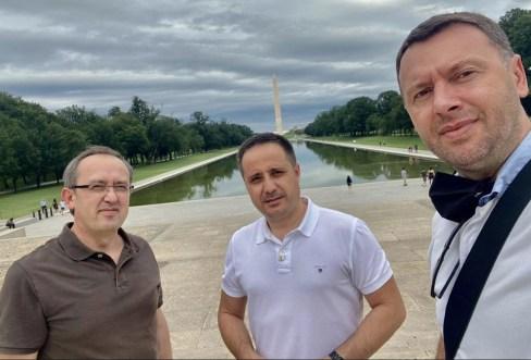 Kryeministri Hoti me dy kolegët nga LDK shijojnë pak parqet e Uashingtonit