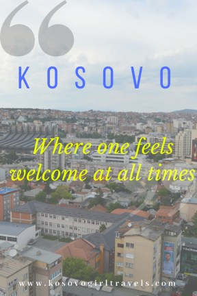 Kosovo, welcome at all times