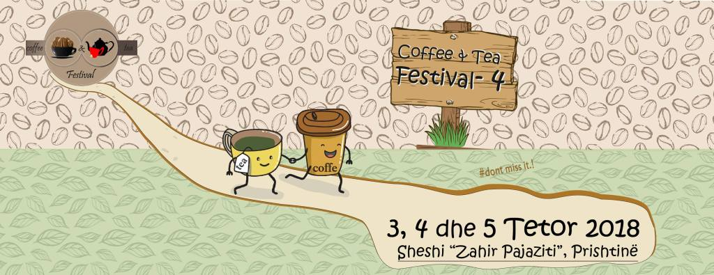 coffe and tea festival Pristina Kosovo