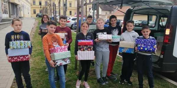 Kutije sv. Josipa dostavljene učenicima u Petrinji
