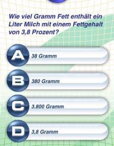 Was könnte die richtige Antwort sein?