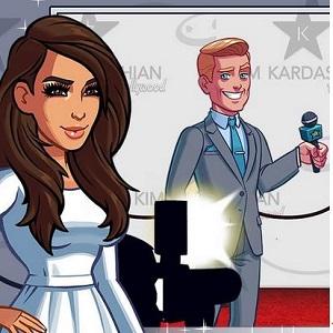 """Kim Kardashian Hollywood"""
