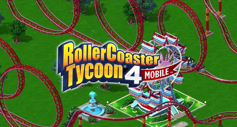 Roller Coaster Tycoon 4 mobile