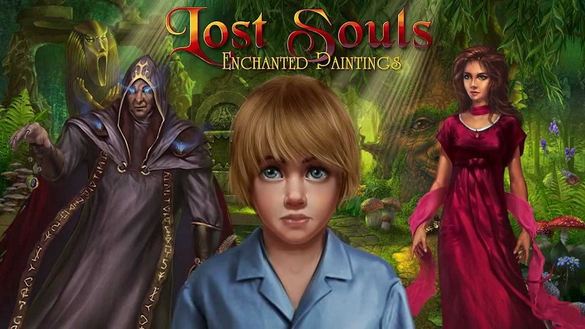 Lost Souls Enchanted Painting