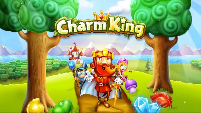 Charm King jetzt mit Winter-Wunderland-Events