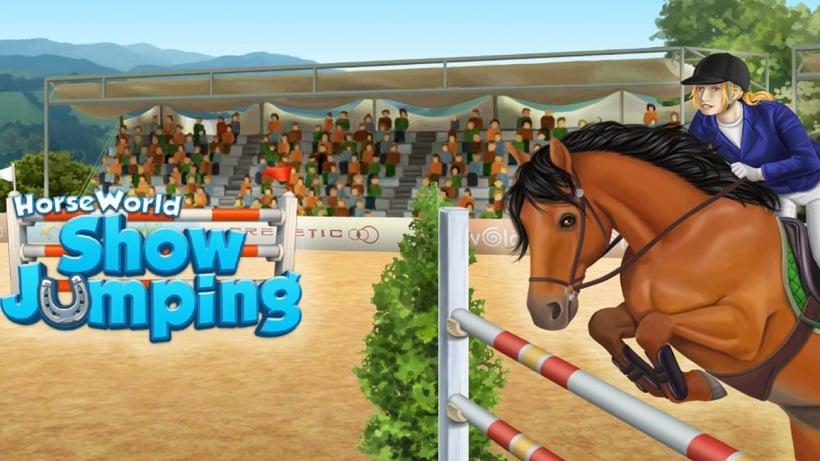 HorseWorld Springreiten