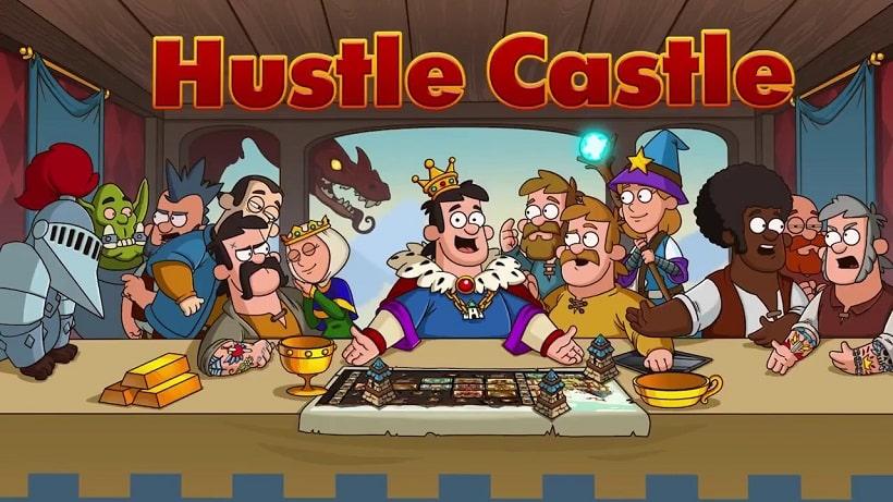 Hustle Castle Fantasy Schloss