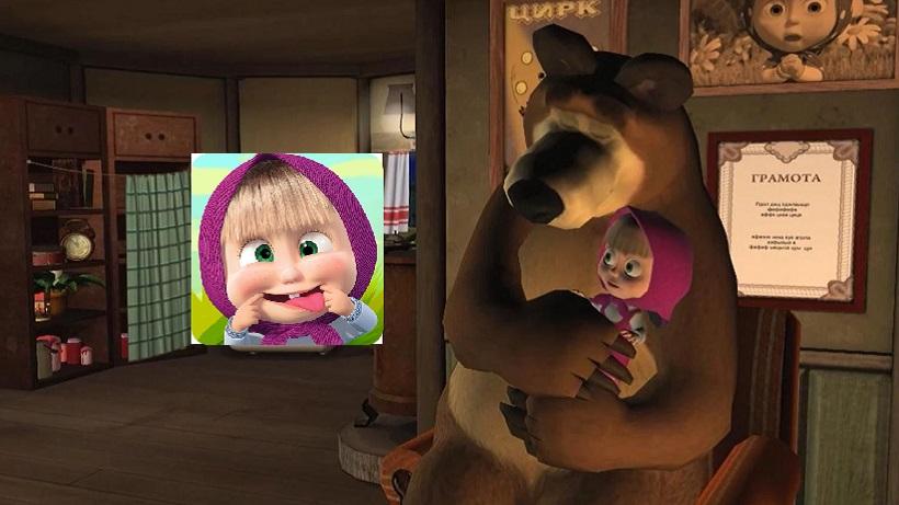 Mascha und der Bär: Gute Nacht