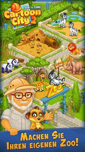 Cartoon Stadt 2: Dorf & Bauernhof