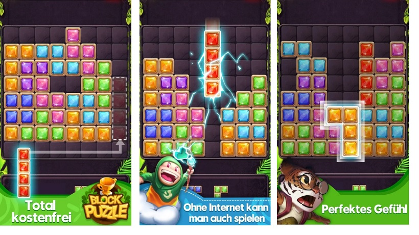 Ein toller Tetris-Klon: Block Puzzle Jewel